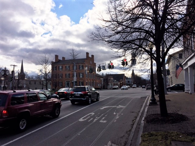 Intersection of Main & State , Village of Pittsford