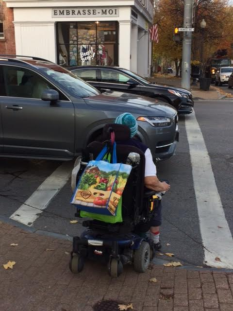 Person using wheelchair (IMAGE: Mark Warner, Flickr)