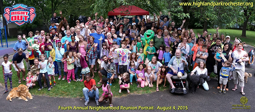 Highland Park's National Night Out 2015