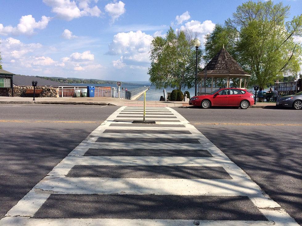 Crosswalk [PHOTO: Renee Stetzer]