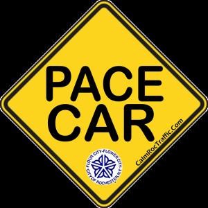 Pace Car Bumper Sticker