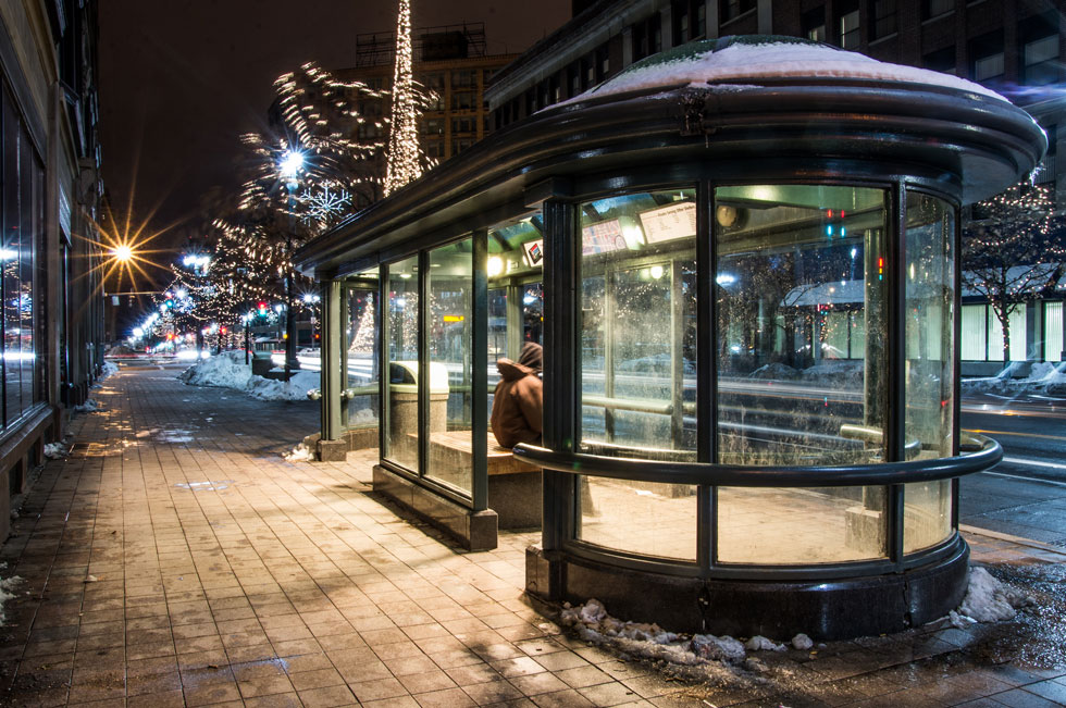 What Could You Do With This Bus Shelter Reconnect Rochester