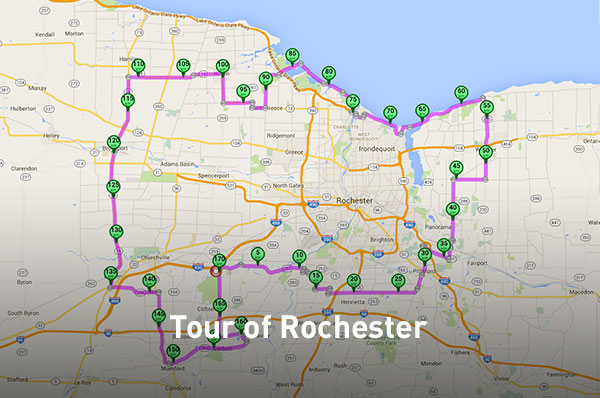 Bike Tour of Rochester