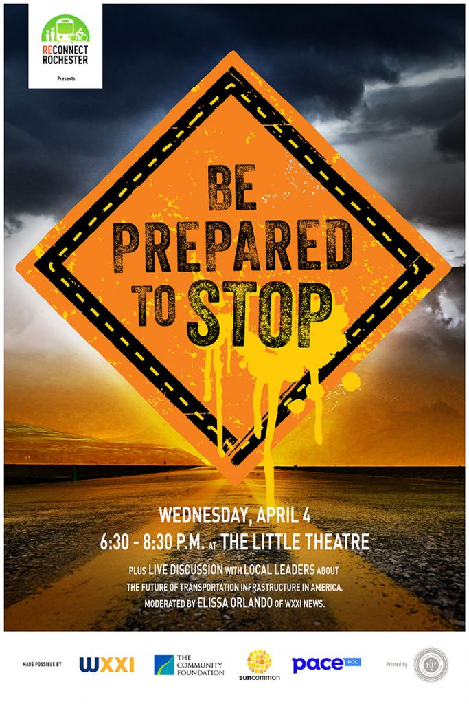 Be Prepared to Stop - April 4, 2018 at The Little Theatre