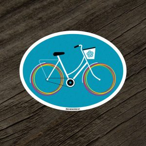 Bike Rochester NY Sticker