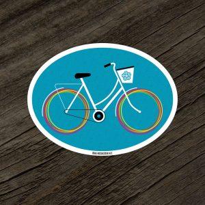Bike Rochester NY Sticker