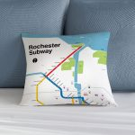 Rochester Subway Pillow
