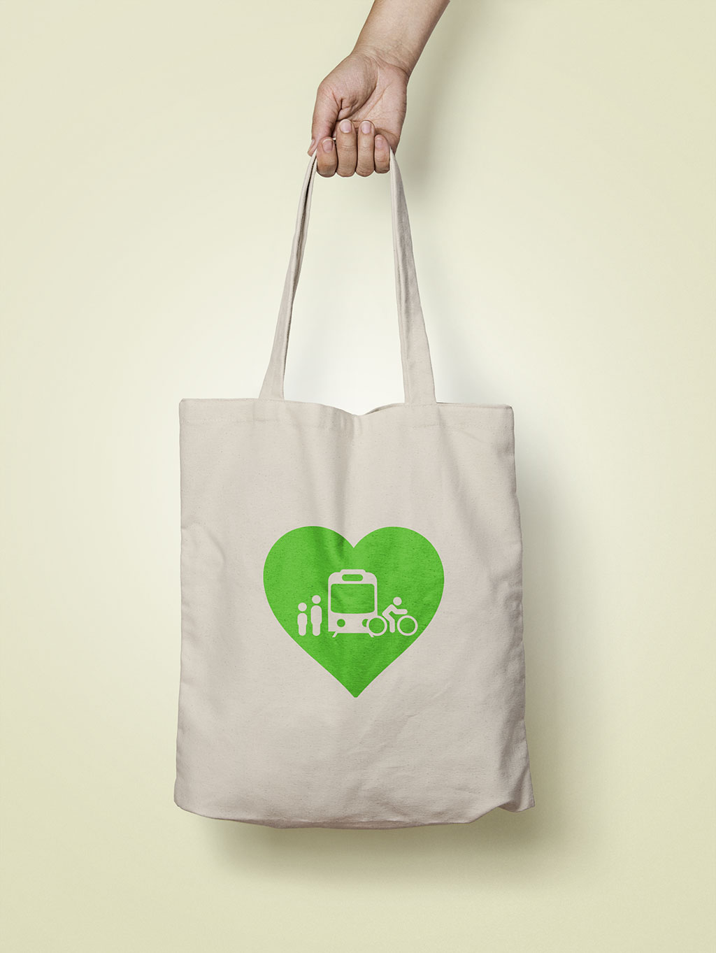 I Love ♥ Transit Tote Bag