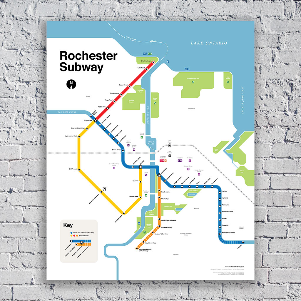 Rochester Ny Subway Map