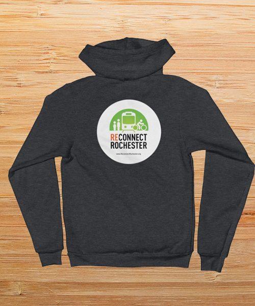 Reconnect Rochester Fleece Zip Up Hoodie